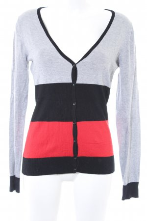 Yessica Strick Cardigan Colourblocking 90ies-Stil