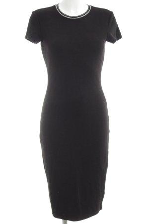 Yessica Strickkleid schwarz Elegant