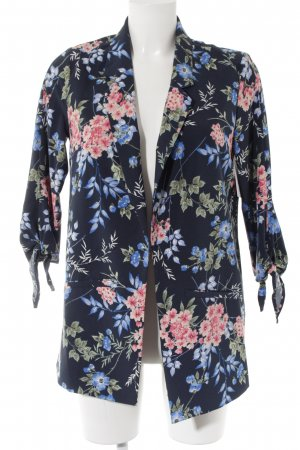 Yessica Sweat Blazer flower pattern casual look