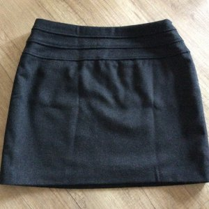 Yessica Wool Skirt black-taupe