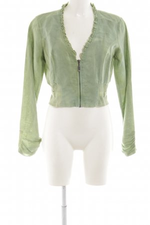 Yest Chaqueta tipo blusa verde look Street-Style