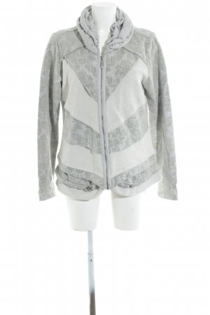 Yest Outdoor Jacket mixed pattern casual look