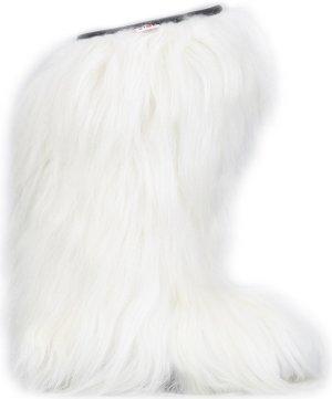 Laarzen met bont wit