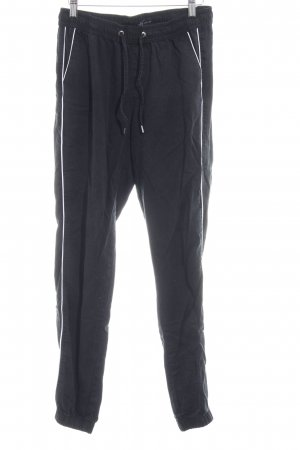yfl RESERVED Baggy Pants anthrazit-weiß Casual-Look