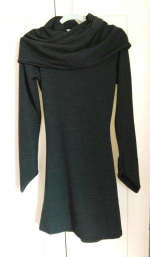 Sweater Dress petrol