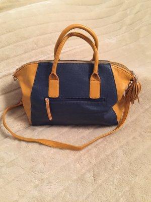 Yik Fung Tasche Handtasche senf-blau