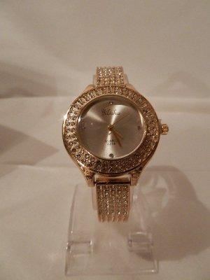 Yilisha Damenuhr Luxus Uhr mit herrlichem Strassbesatz - NEU