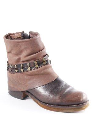 YKX & Co. Western-Stiefeletten braun Reiter-Look