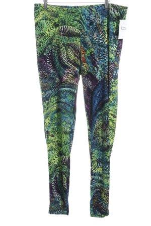 Yoek Leggings estampado con diseño abstracto estilo extravagante