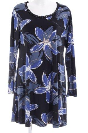 Yoek Longshirt florales Muster Casual-Look