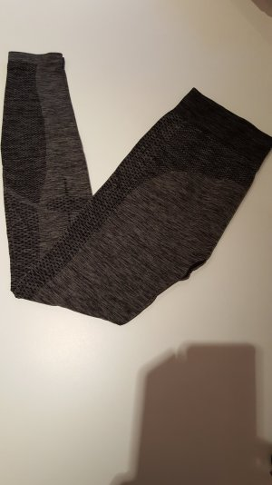 H&M Leggings black-grey