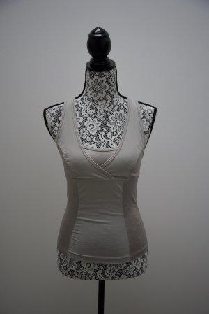 Deha Top basic grigio chiaro-argento Tessuto misto