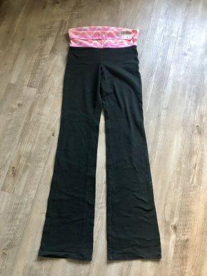 Yoga Pants mit Umschlagbund