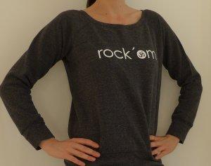 Yoga Sweat Shirt, Rock OM, grau