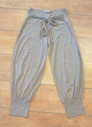 Yogahose - Chillerhose - Homewear Hose - Sporthose - grau - XS/S