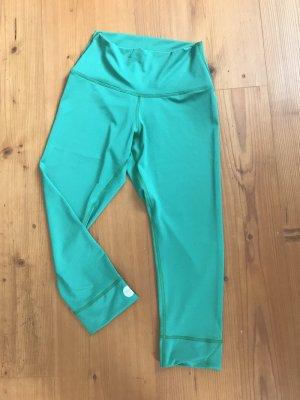 Pantalon 3/4 vert polyester