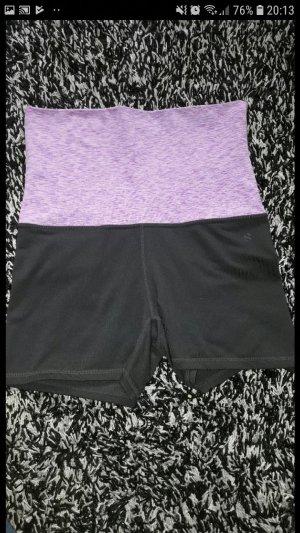 H&M Sport Sport Shorts black-lilac