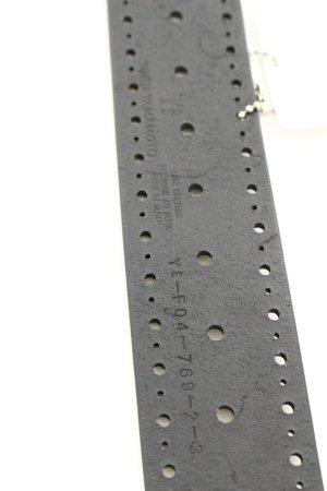 Yohji Yamamoto Gürtel schwarz-silberfarben Boho-Look