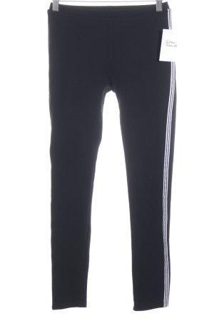 Yohji Yamamoto Leggings schwarz-weiß sportlicher Stil