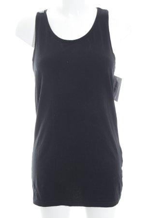 Yohji Yamamoto Sporttop weiß-schwarz sportlicher Stil