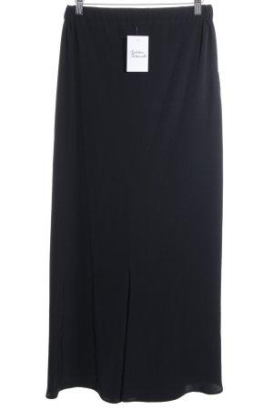 Yohji Yamamoto Stoffhose schwarz schlichter Stil