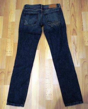 Yohji Yamamoto Y-3 Jeans Denim Pants 100 % Cotton anthrazit graublau Gr. S (28)