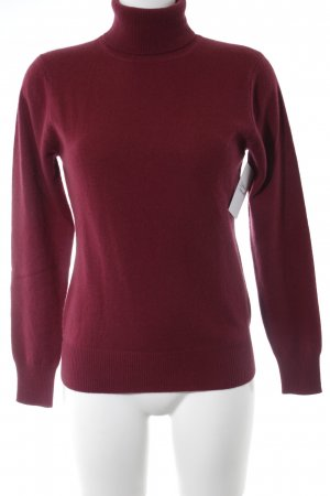 Yorn Pullover in cashmere bordeaux stile casual