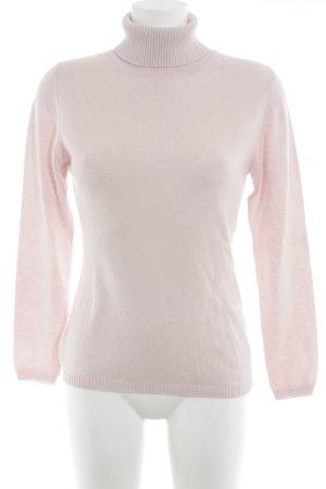 Yorn Rollkragenpullover rosa Casual-Look