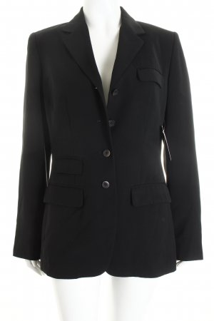 Yorn Smoking-Blazer schwarz Business-Look