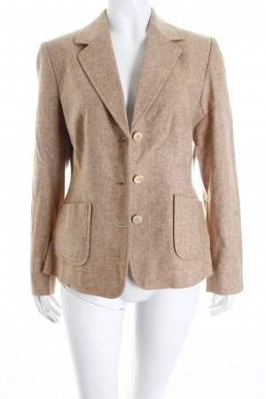 Yorn Woll-Blazer camel Business-Look