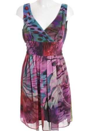 Young Couture by Barbara Schwarzer A-Linien Kleid Farbverlauf 70ies-Stil