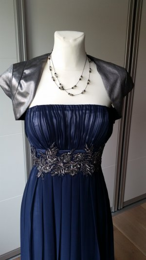 Young Couture by Barbara Schwarzer Abendkleid Ballkleid 34 XS blau