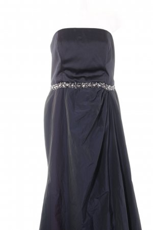 Young Couture by Barbara Schwarzer Abendkleid dunkelblau Party-Look