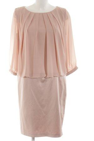 Young Couture by Barbara Schwarzer Blousejurk roze zakelijke stijl