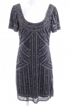 Young Couture by Barbara Schwarzer Sequin Dress black-silver-colored elegant