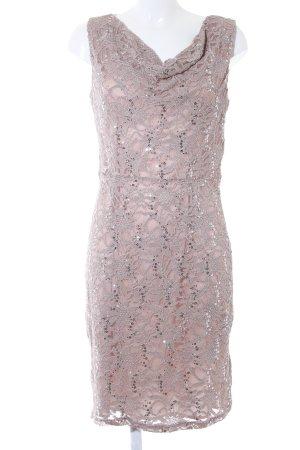 Young Couture by Barbara Schwarzer Spitzenkleid beige Elegant