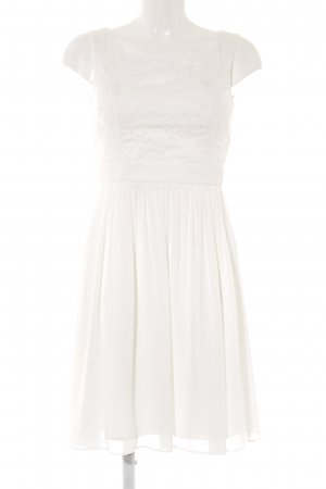 Young Couture by Barbara Schwarzer Abito in pizzo bianco elegante