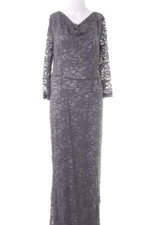 Young Couture Maxikleid grau schlichter Stil
