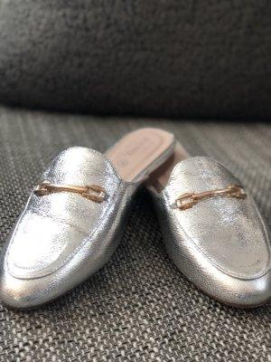 Young Spirit NEU Gr. 38 Silber Gold Fashion Slipper Pantoletten