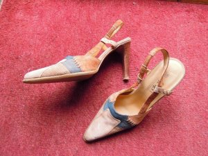 Young Spirit Sandale Pumps Leder Gr. 38