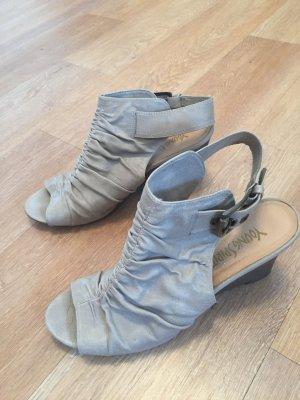 Young Spirit Sandaletten - Größe 40 - Beige / grau