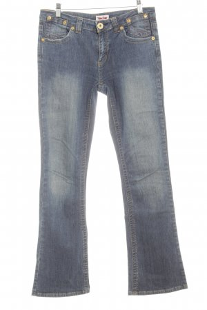 Young Spirit Stretch Jeans blau Metallknöpfe