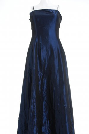 Your 6th Sense Abendkleid blau-dunkelblau Glanz-Optik