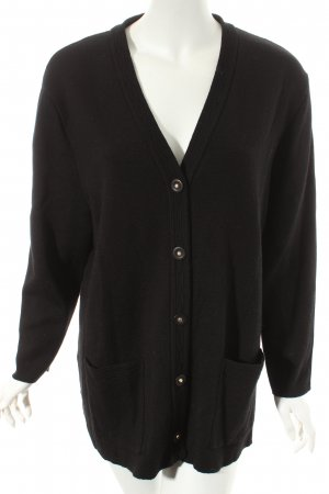 Your 6th Sense Strick Cardigan schwarz Street-Fashion-Look