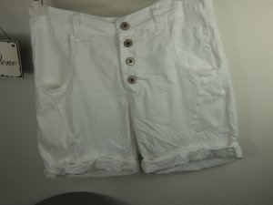 YOUR & SELF KREMPELSHORT GR M WEISS MADE IN ITALY TOP