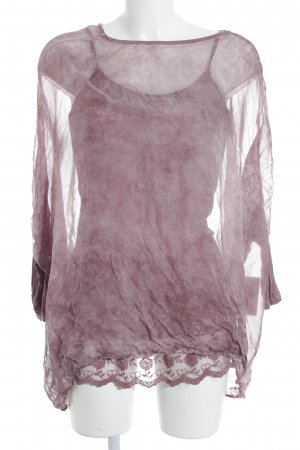 your & self Oversized Shirt altrosa Street-Fashion-Look