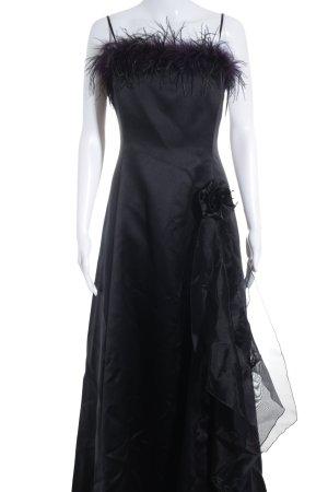 Your Sixth Sense Abendkleid schwarz-dunkelviolett Elegant