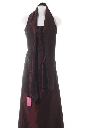 Your Sixth Sense Maxi Skirt dark red elegant