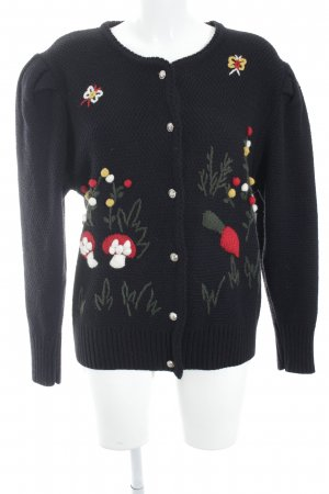 Your Sixth Sense Strick Cardigan florales Muster Country-Look
