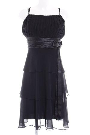 Your Sixth Sense Volante jurk zwart elegant